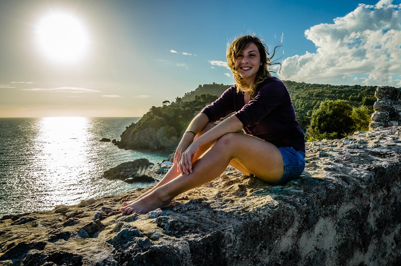 Giulia e il mare...
