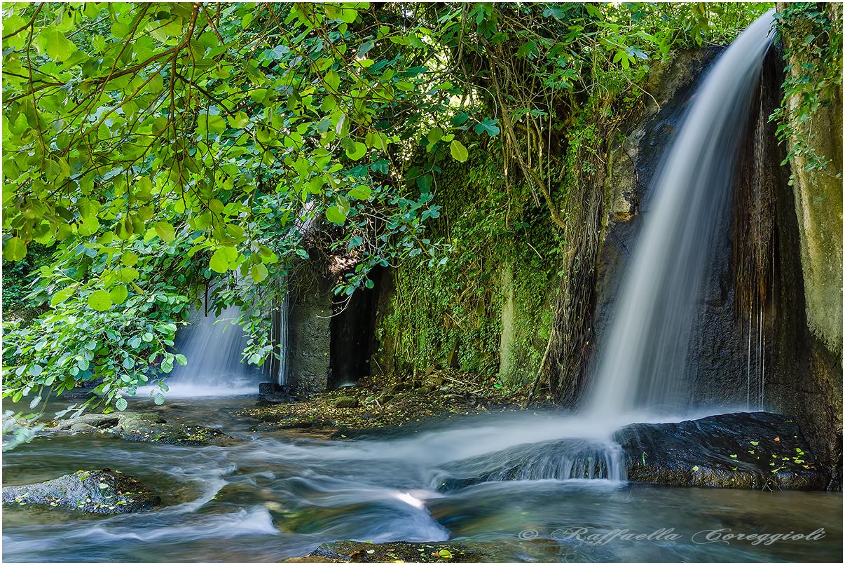 Monte Gelato waterfalls 4...