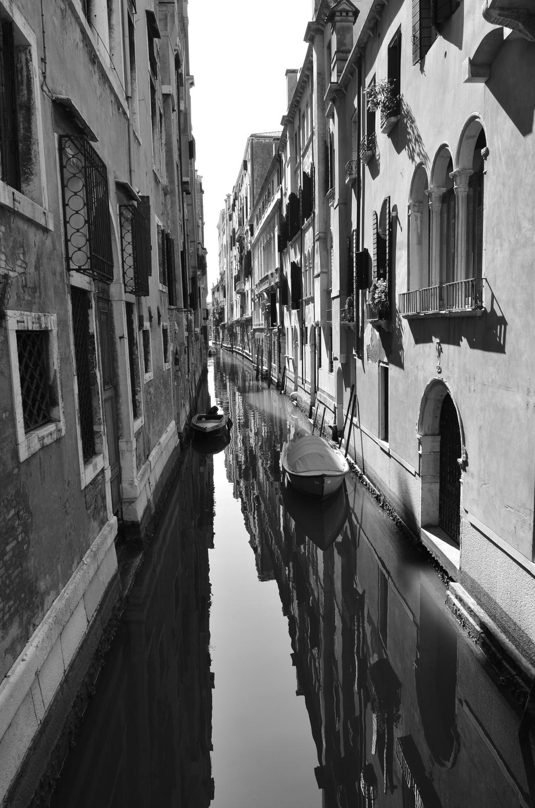 Venice in B & W...