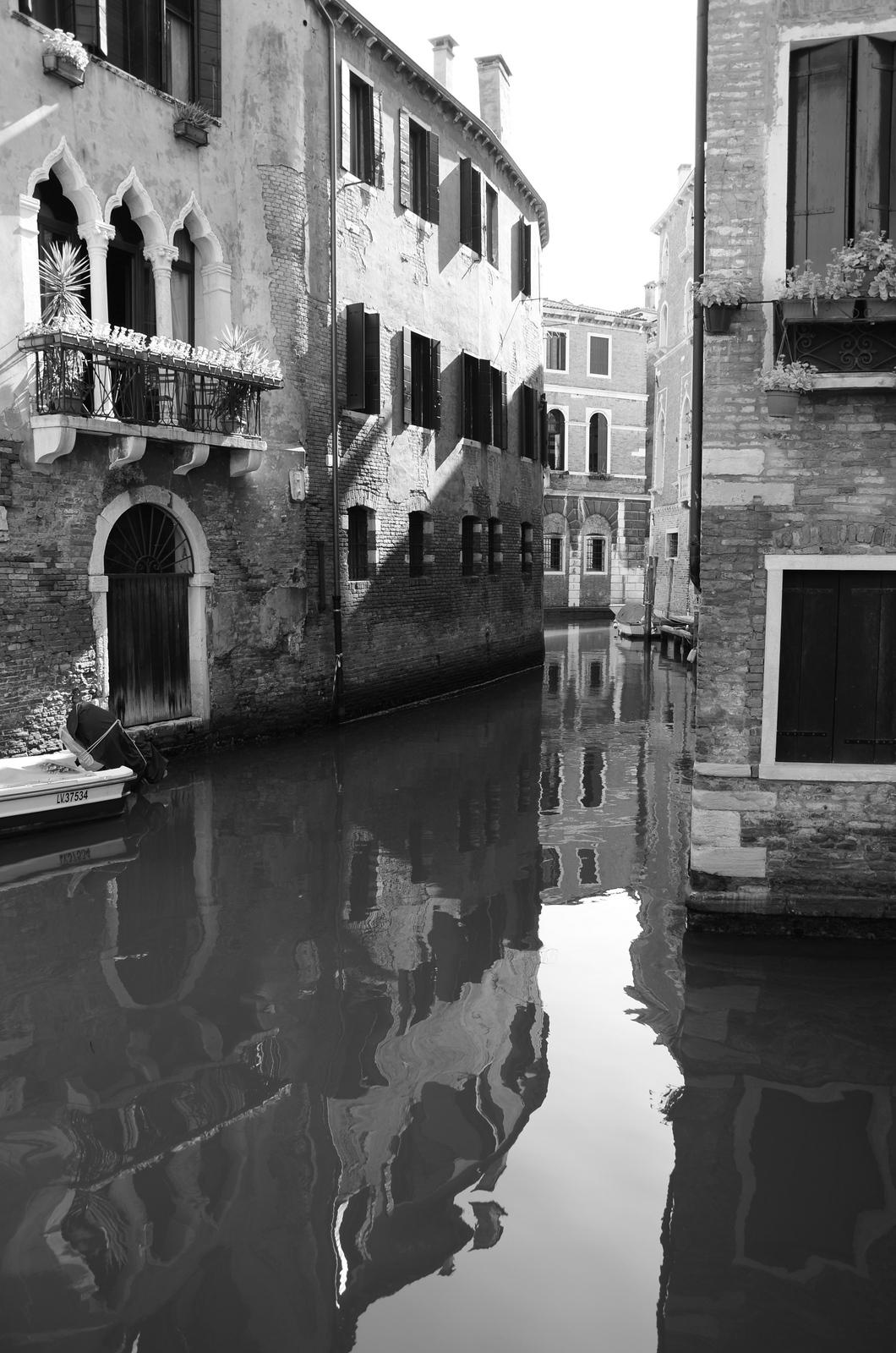 Venice in B & W follows...