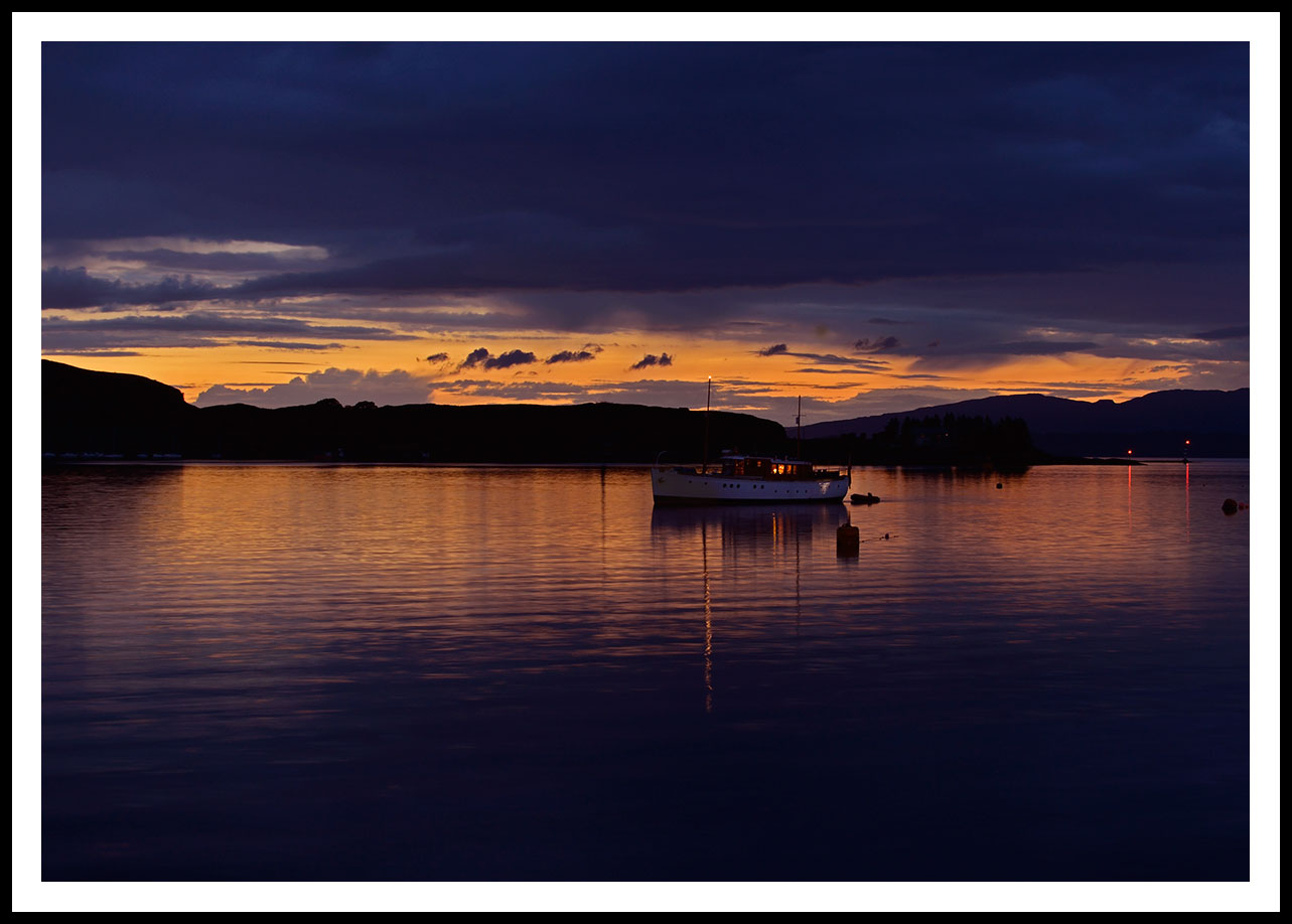 Scotland: Oban Bay...