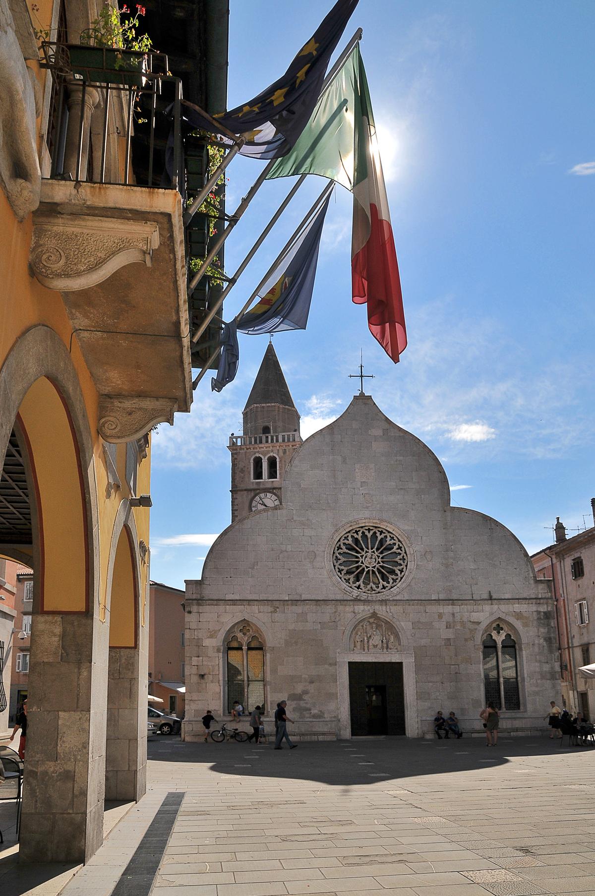 square in Muggia...