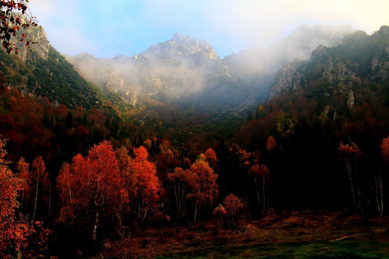 Autumn colors sull'Alben...