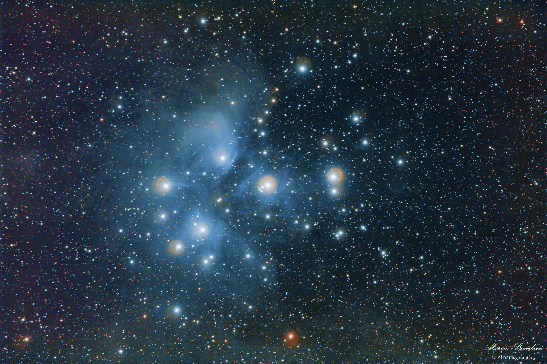 M45 Pleiades, the seven sisters...