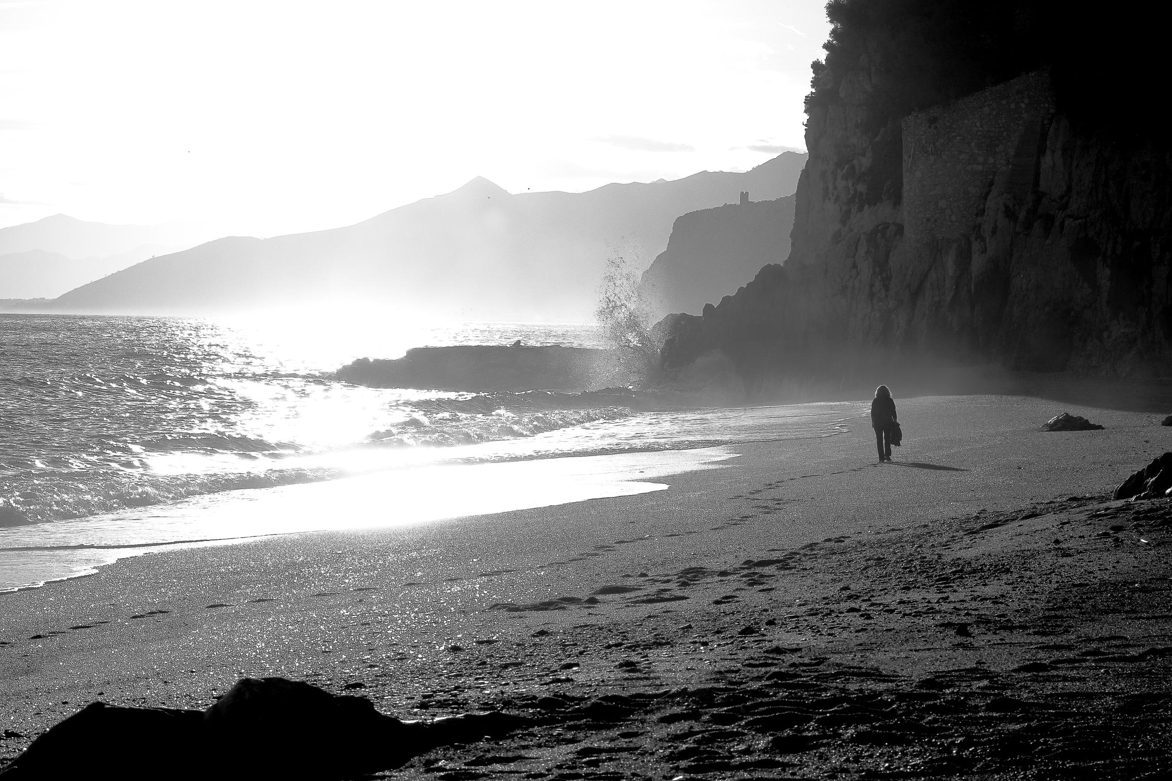 Beach in November...