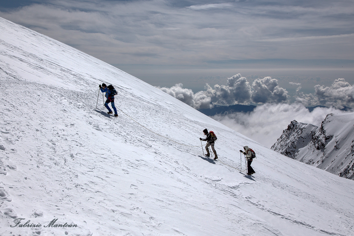 To the summit...