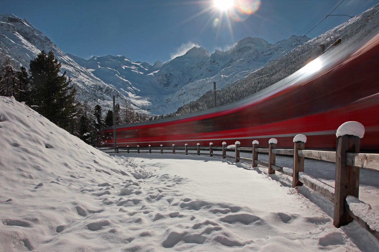Bernina Express...