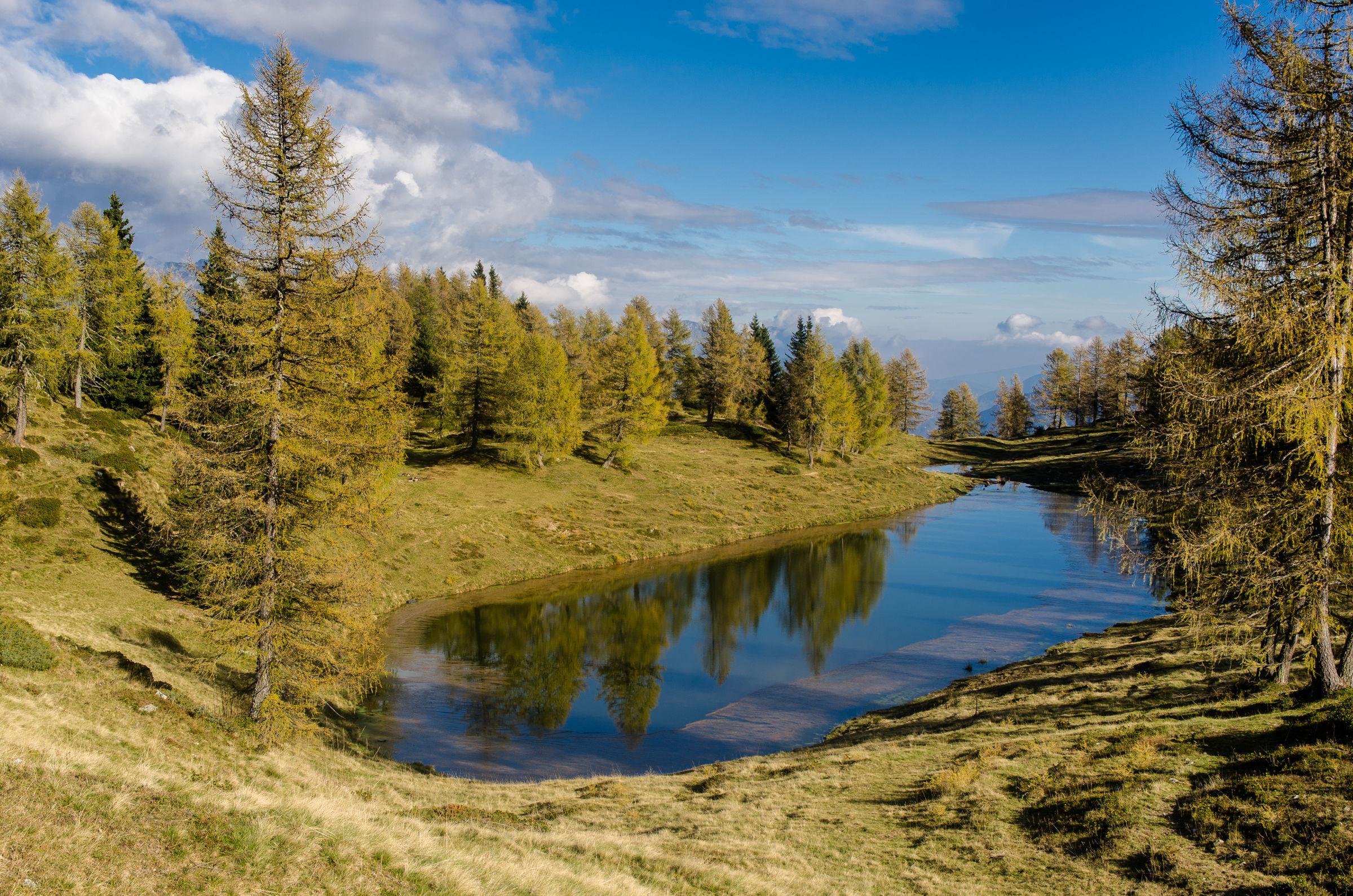 Big Lake, Trentino, southern Lagorai...