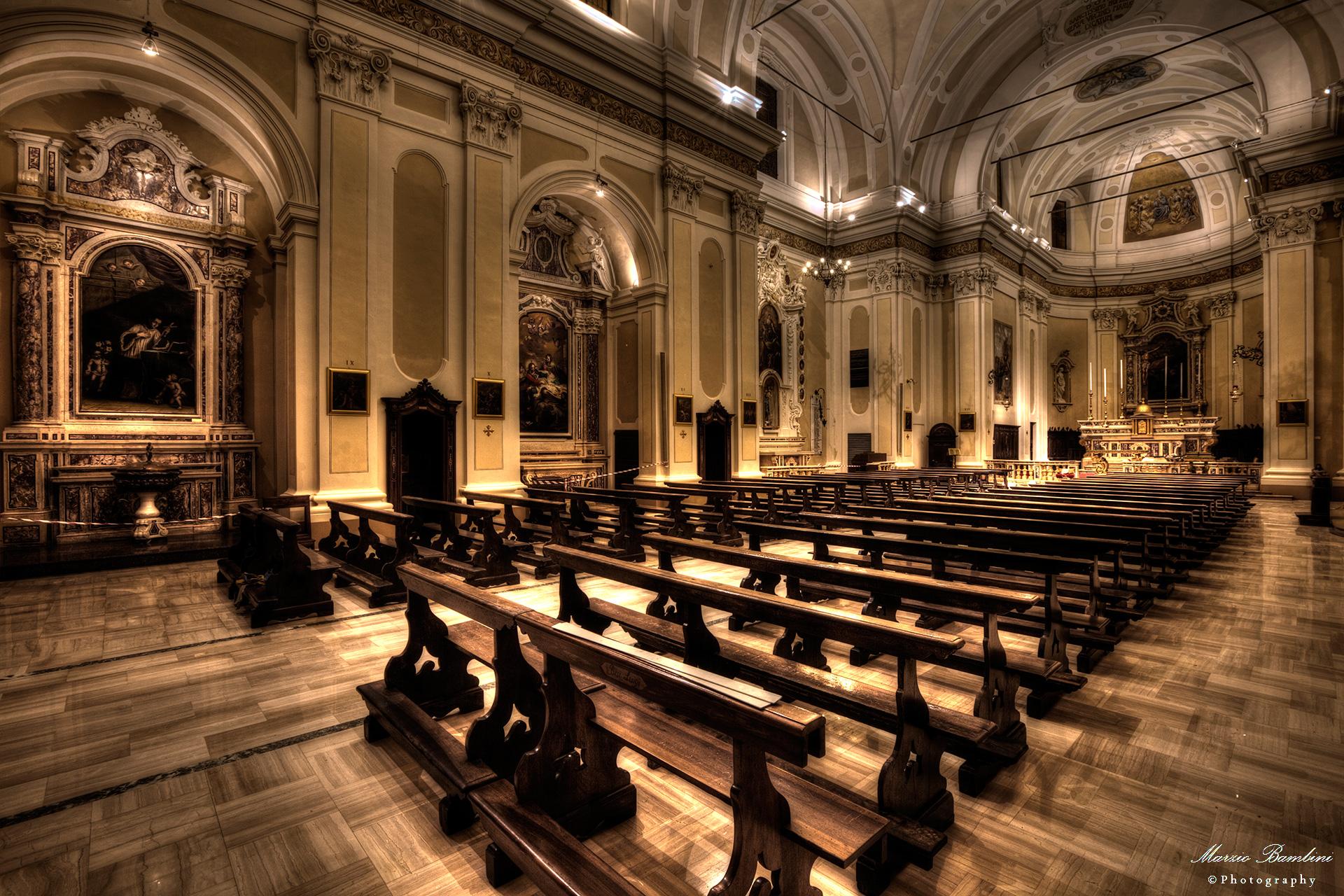 Poggio Rusco, the Church restored after the earthquake...