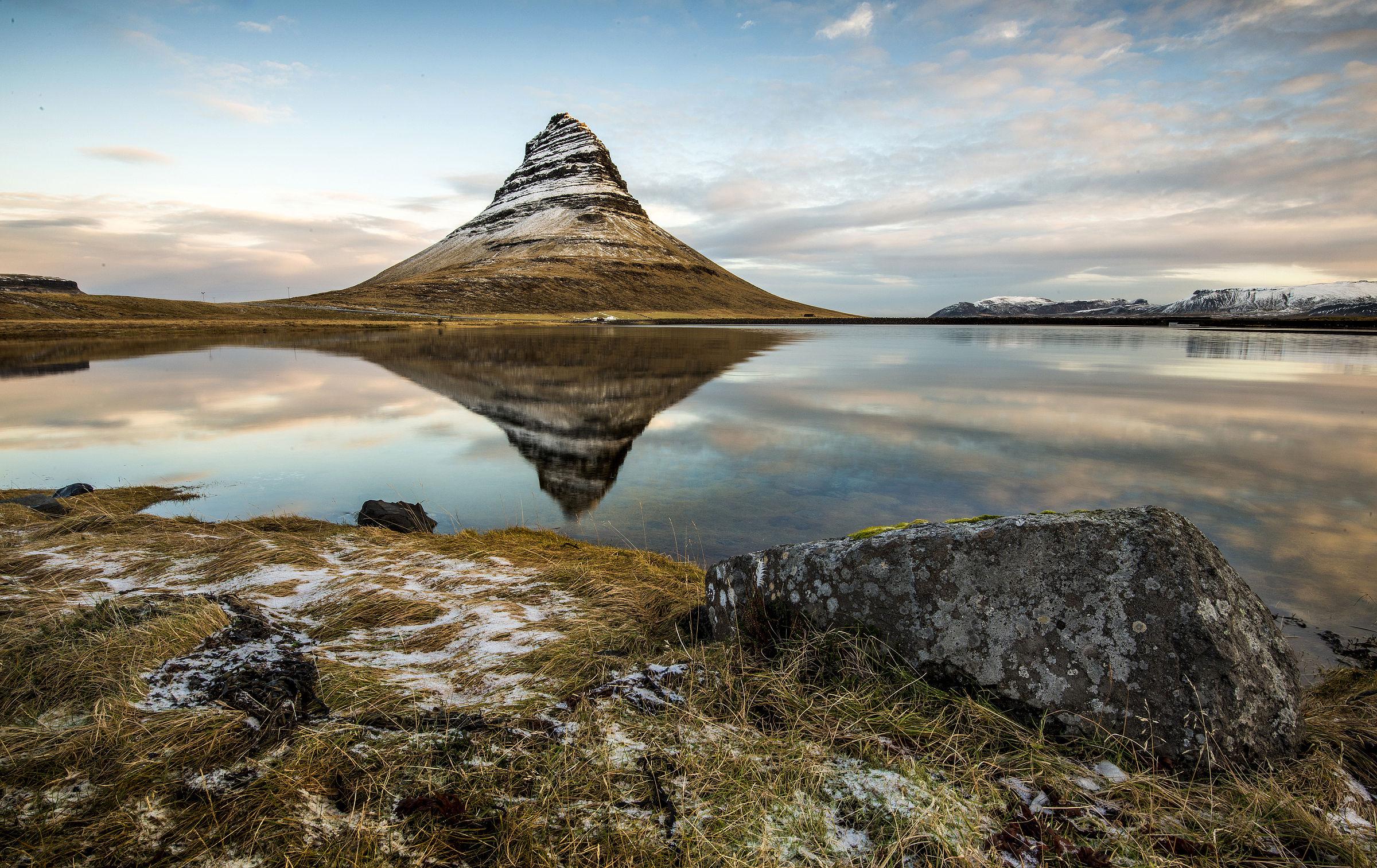 Iceland - Sunrise at Kirkjufell...