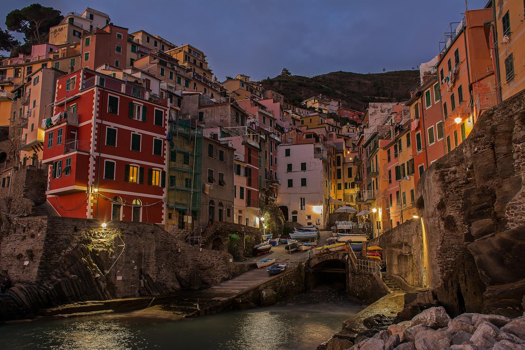 Riomaggiore-Blue Hour...