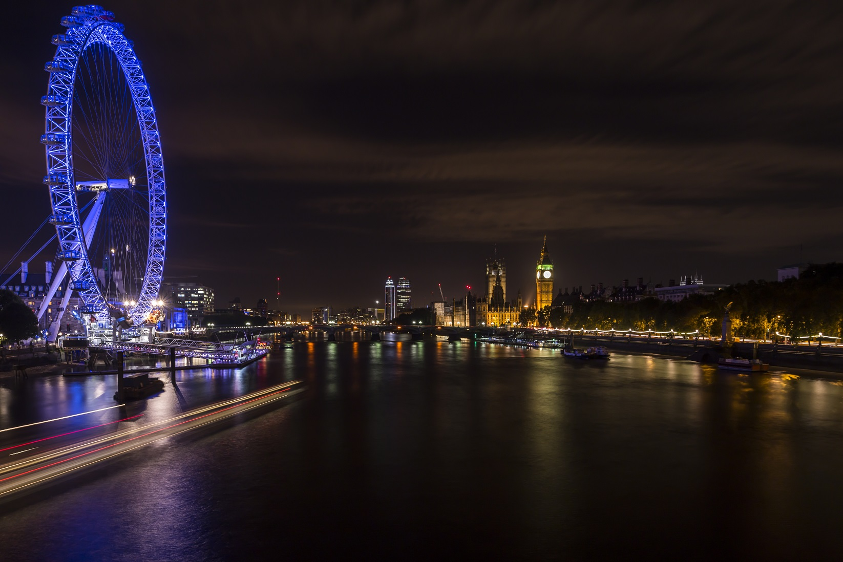 Londra: London Eye e Big Ben...