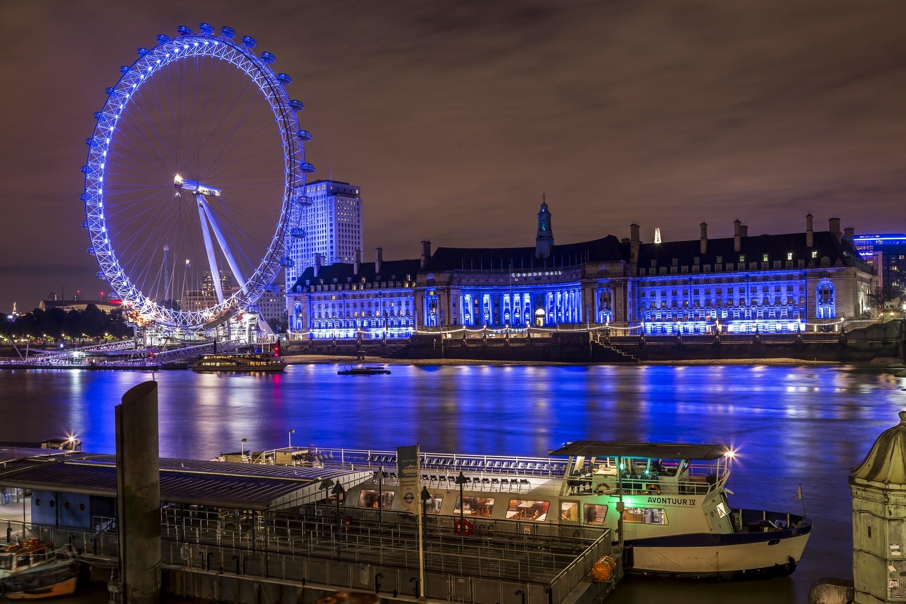 Londra: London Eye e Tamigi...
