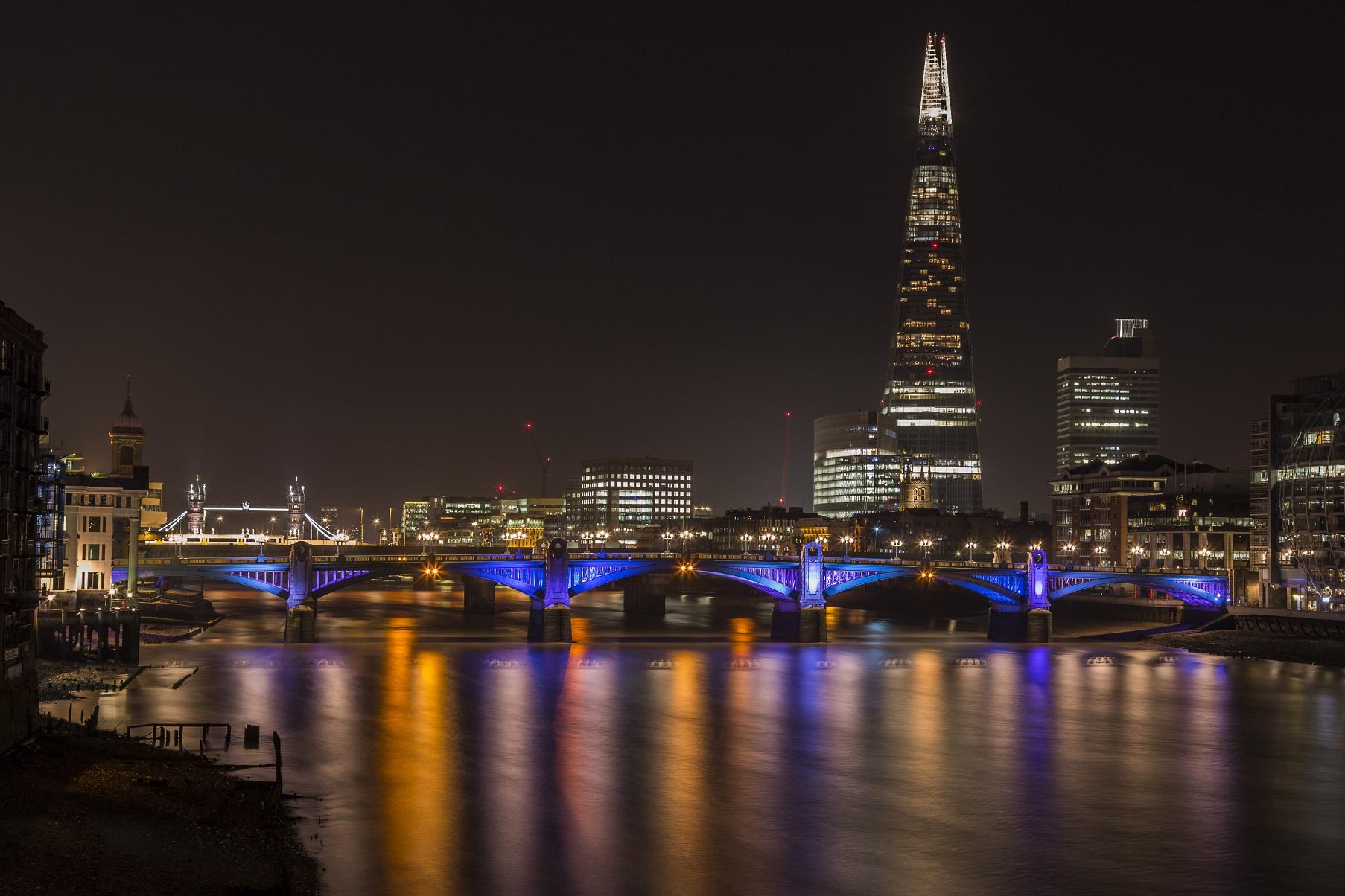 Londra: Shard e Tamigi...