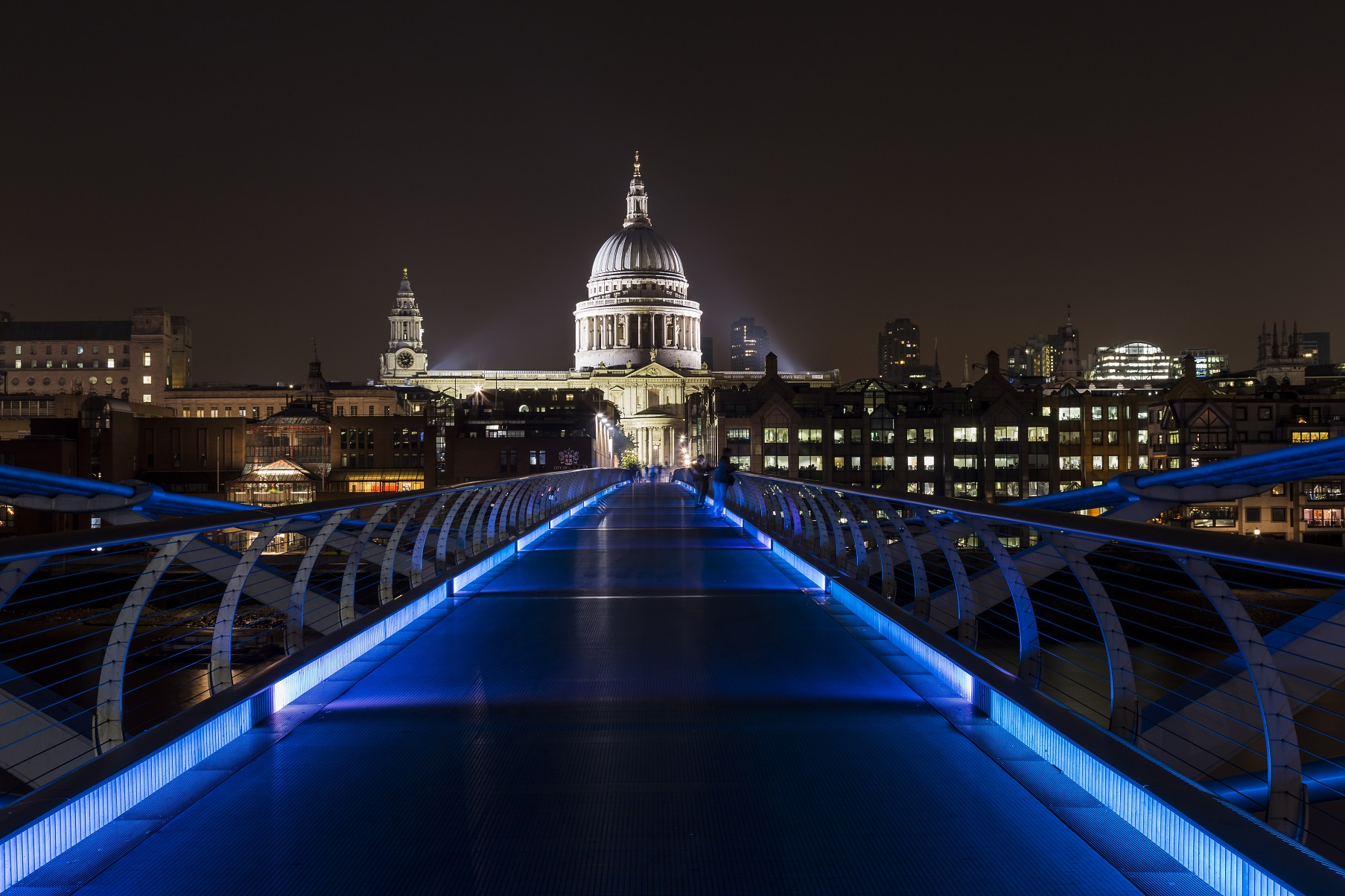 Londra: Millenium Bridge e Saint Paul...