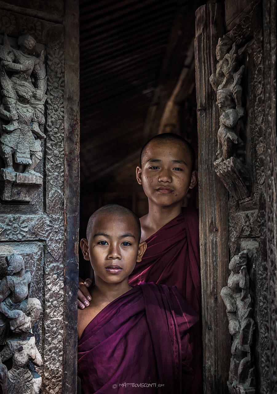 giovani monaci...