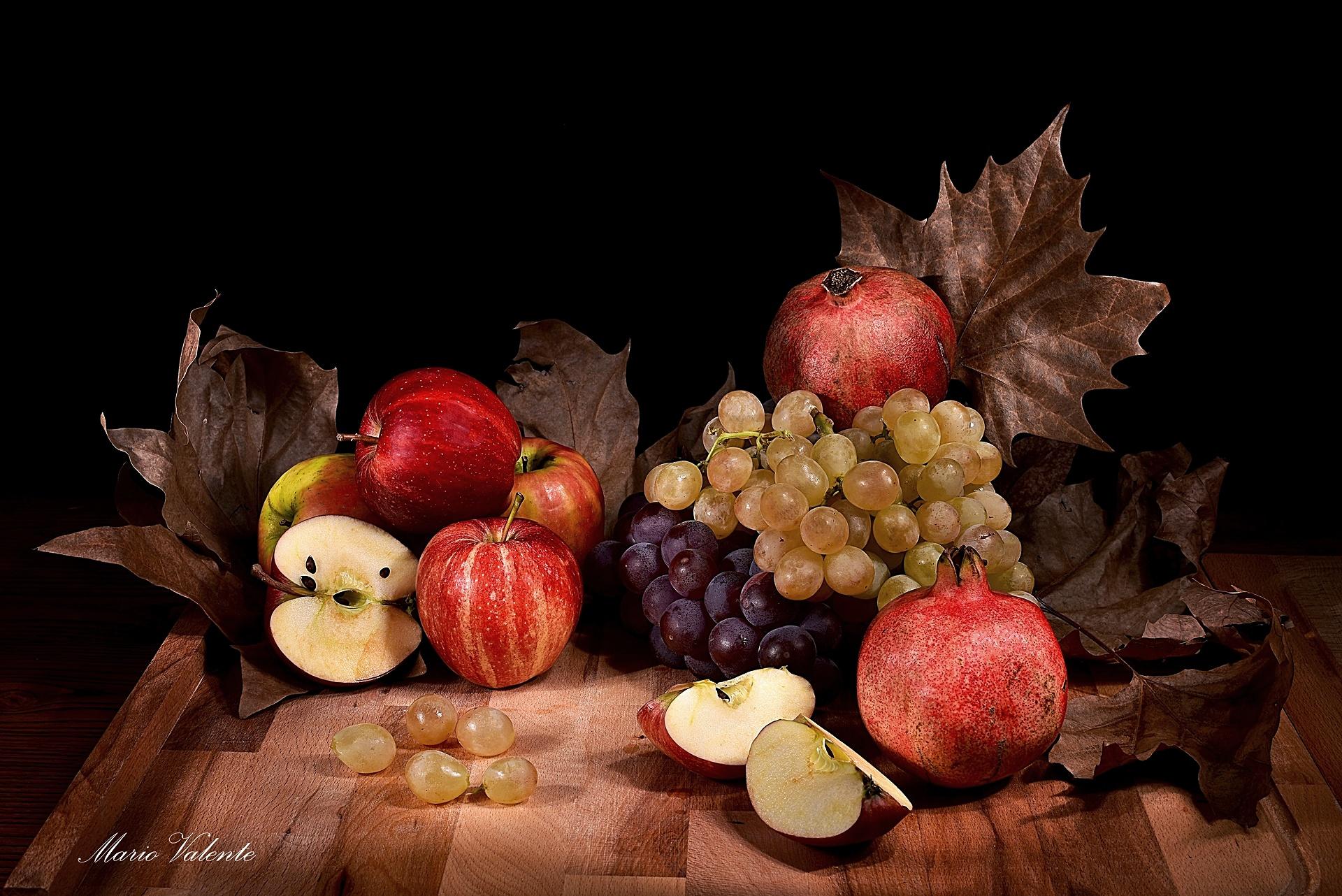 Frutta in light painting...