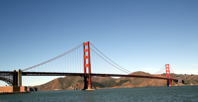 The Golden Gate...