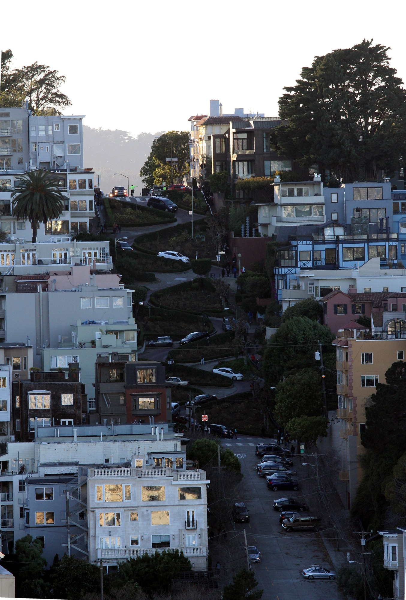 Lombards street, San Francisco...