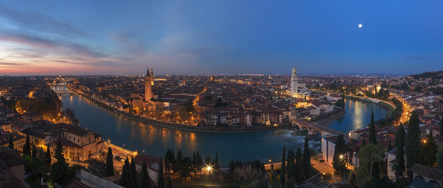 Verona, between sleep and wakefulness...