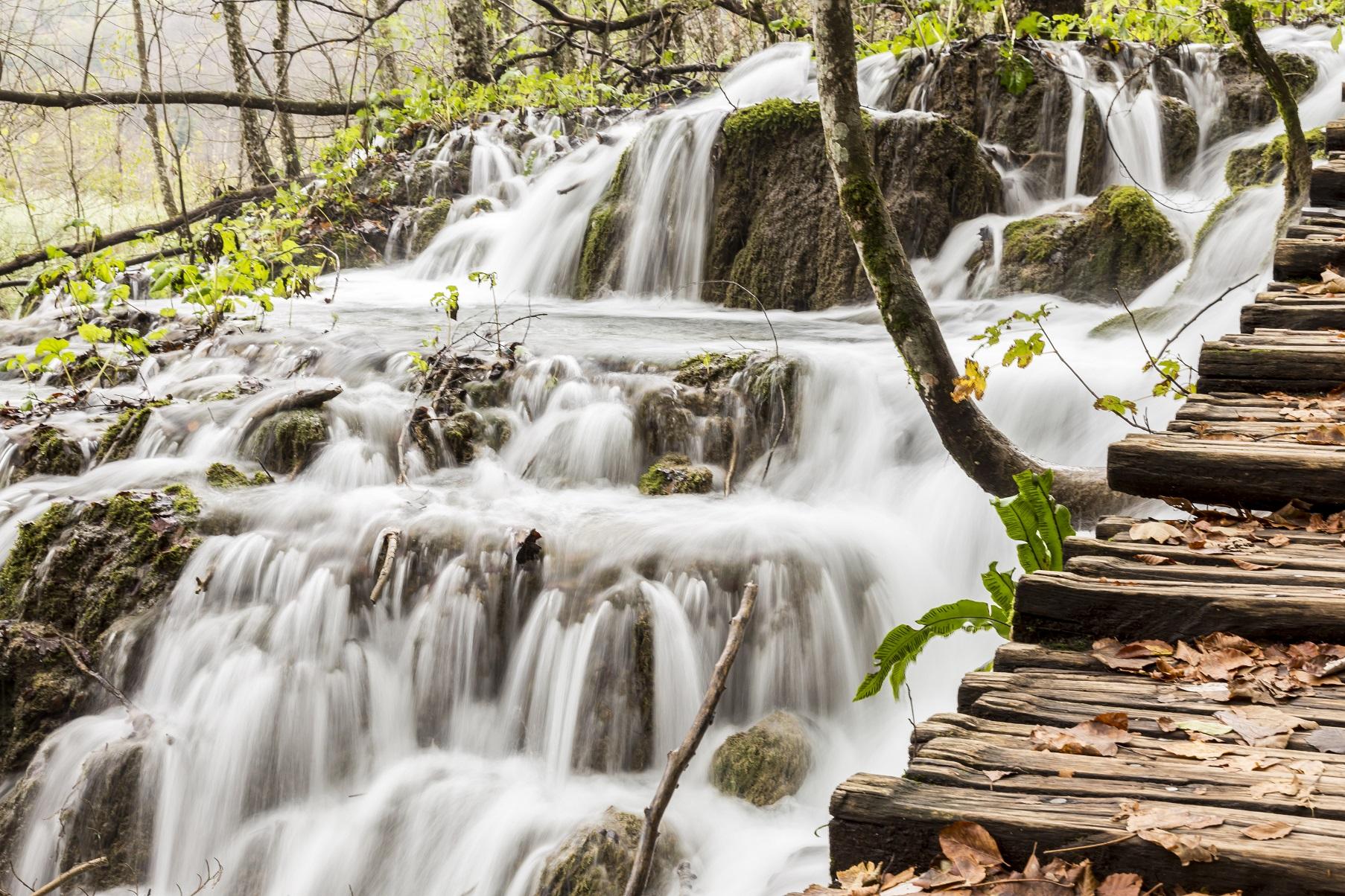 Autunno alle cascate di Plitvice...