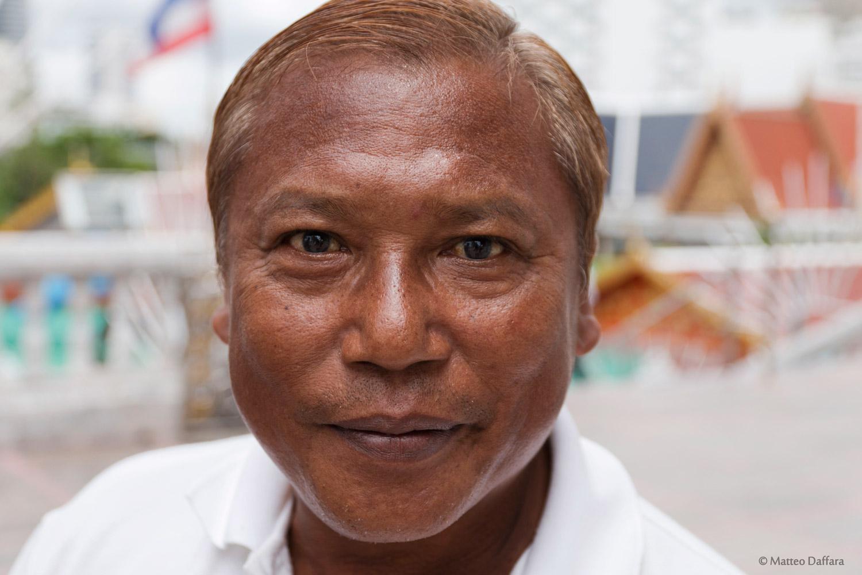 Una solare persona Thailandese...