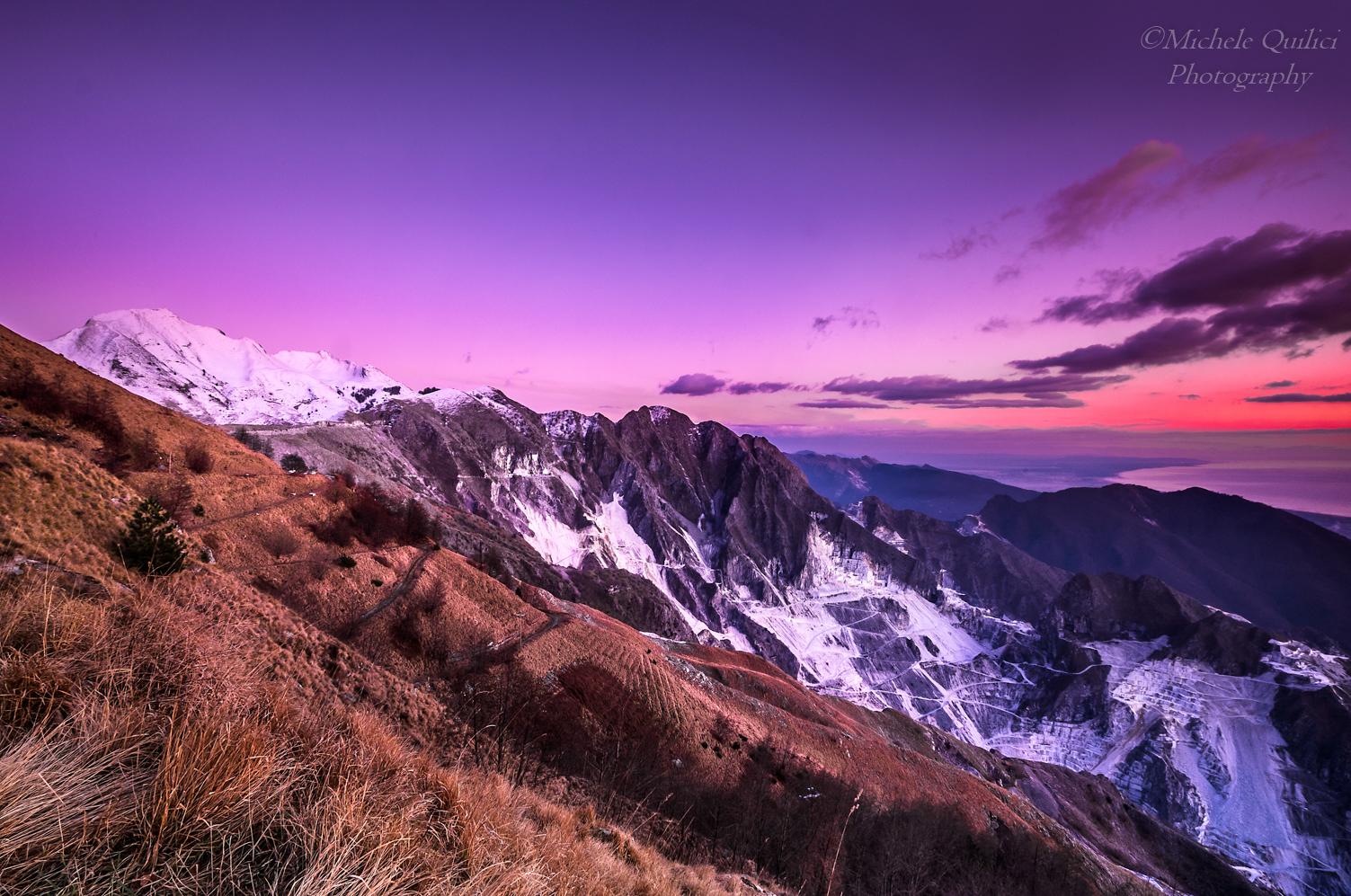 Alpi Apuane, Campo Cecina...