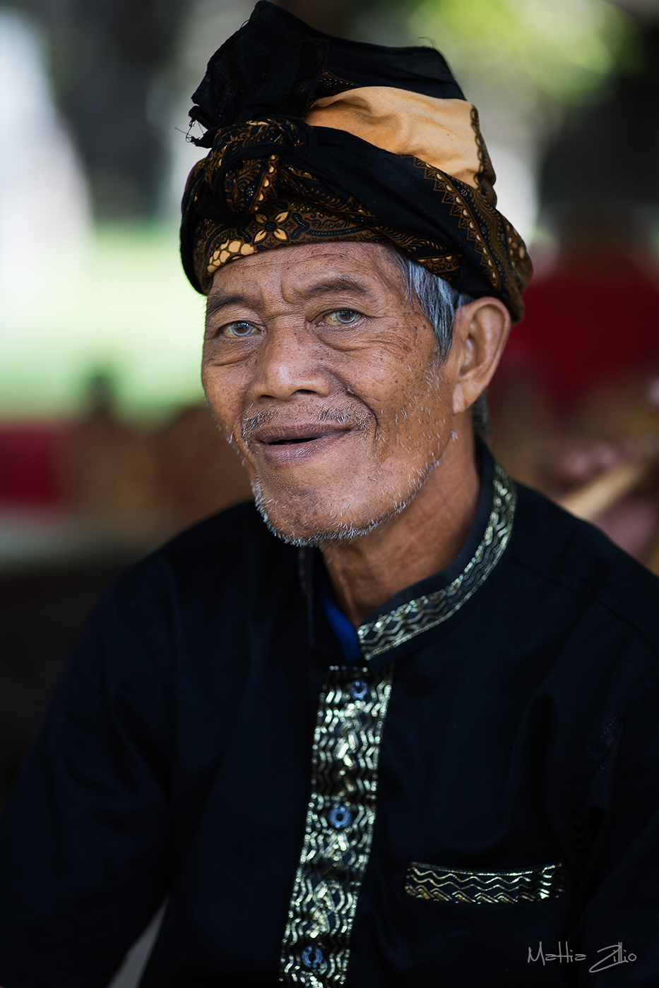 Elder Balinese...