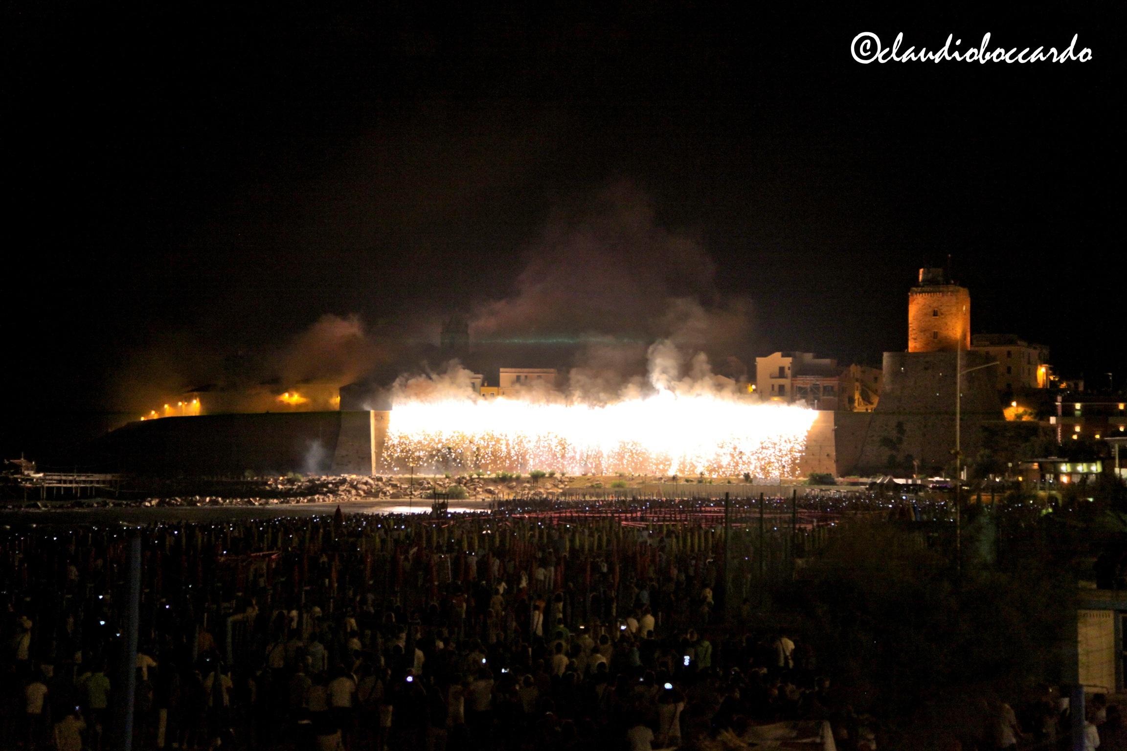 Fire Castle Termoli...