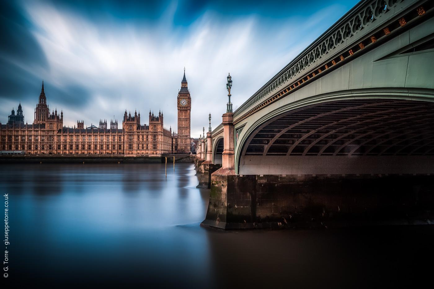 The blue Thames...
