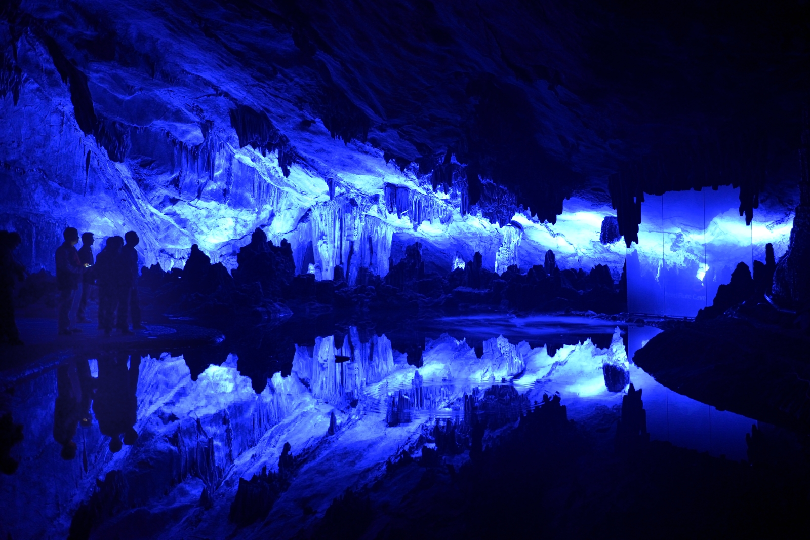 The Reed Flute Cave - China...