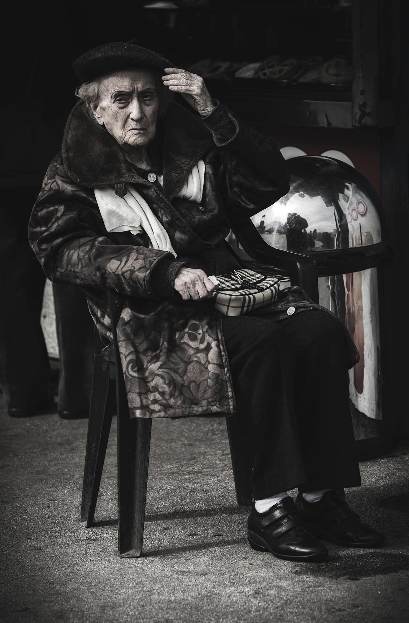 una signora a roma...