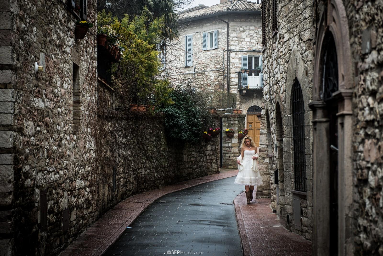 Walking @ Assisi...