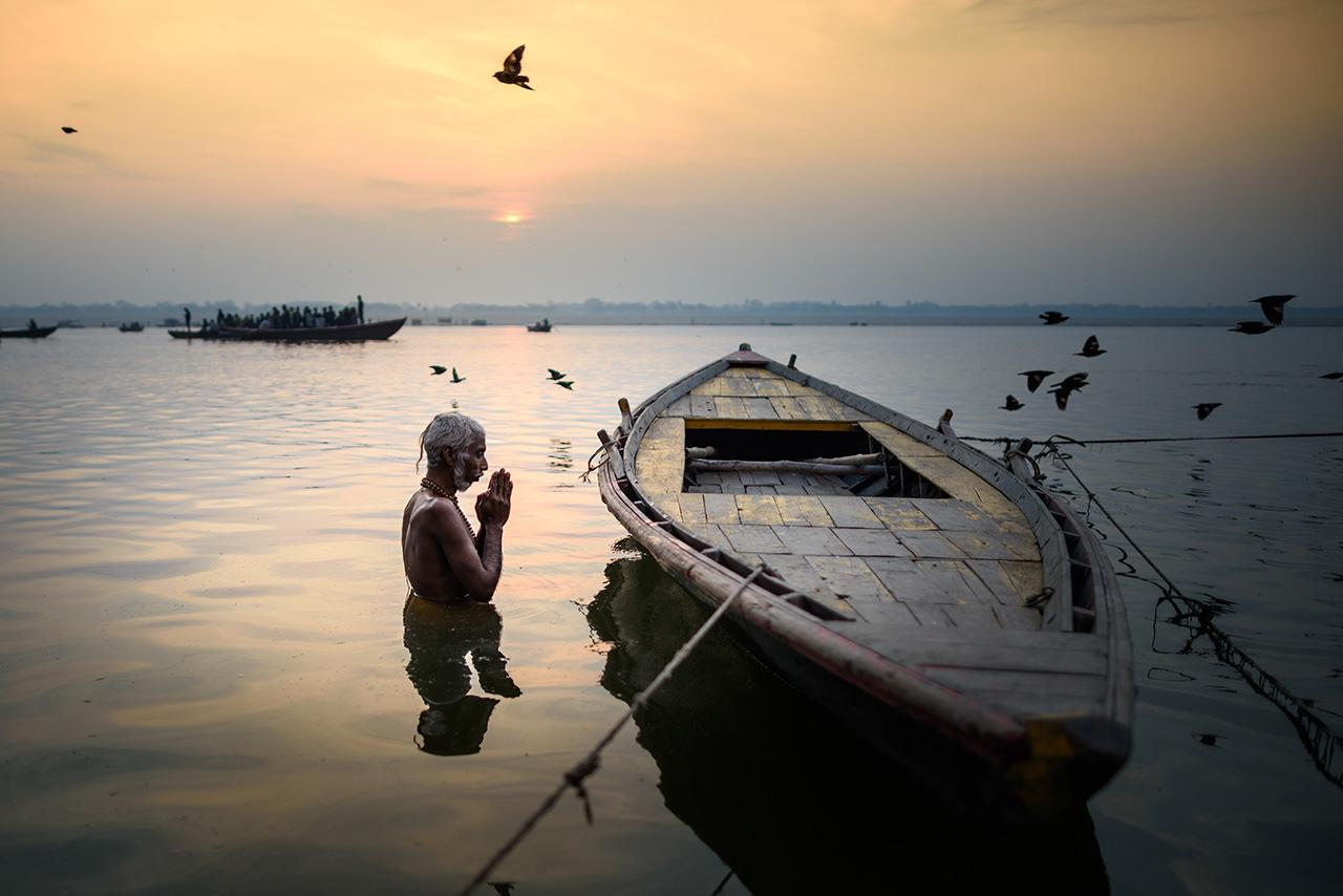 Ganga river, Varanasi...