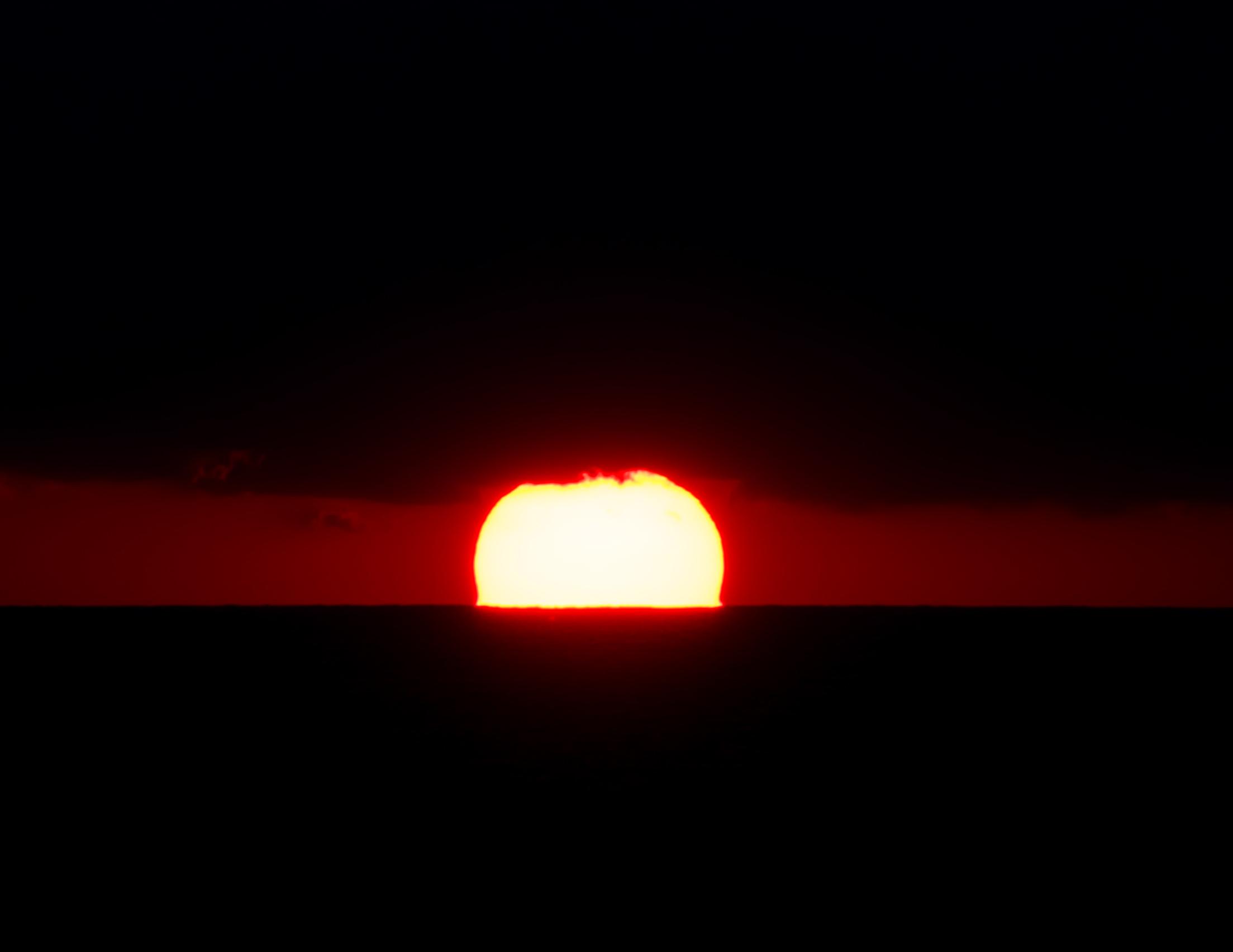 L'autore del tramonto irreale ma vero...