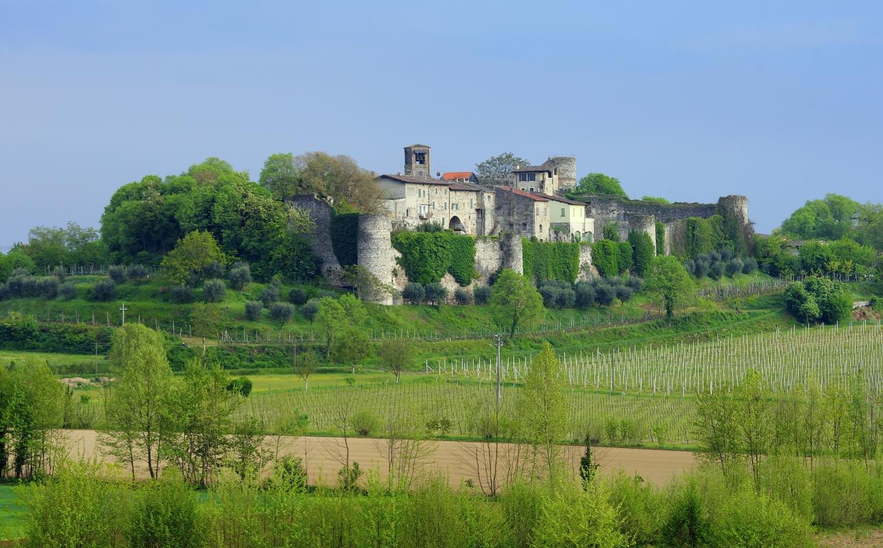Il castello di Monzambano...