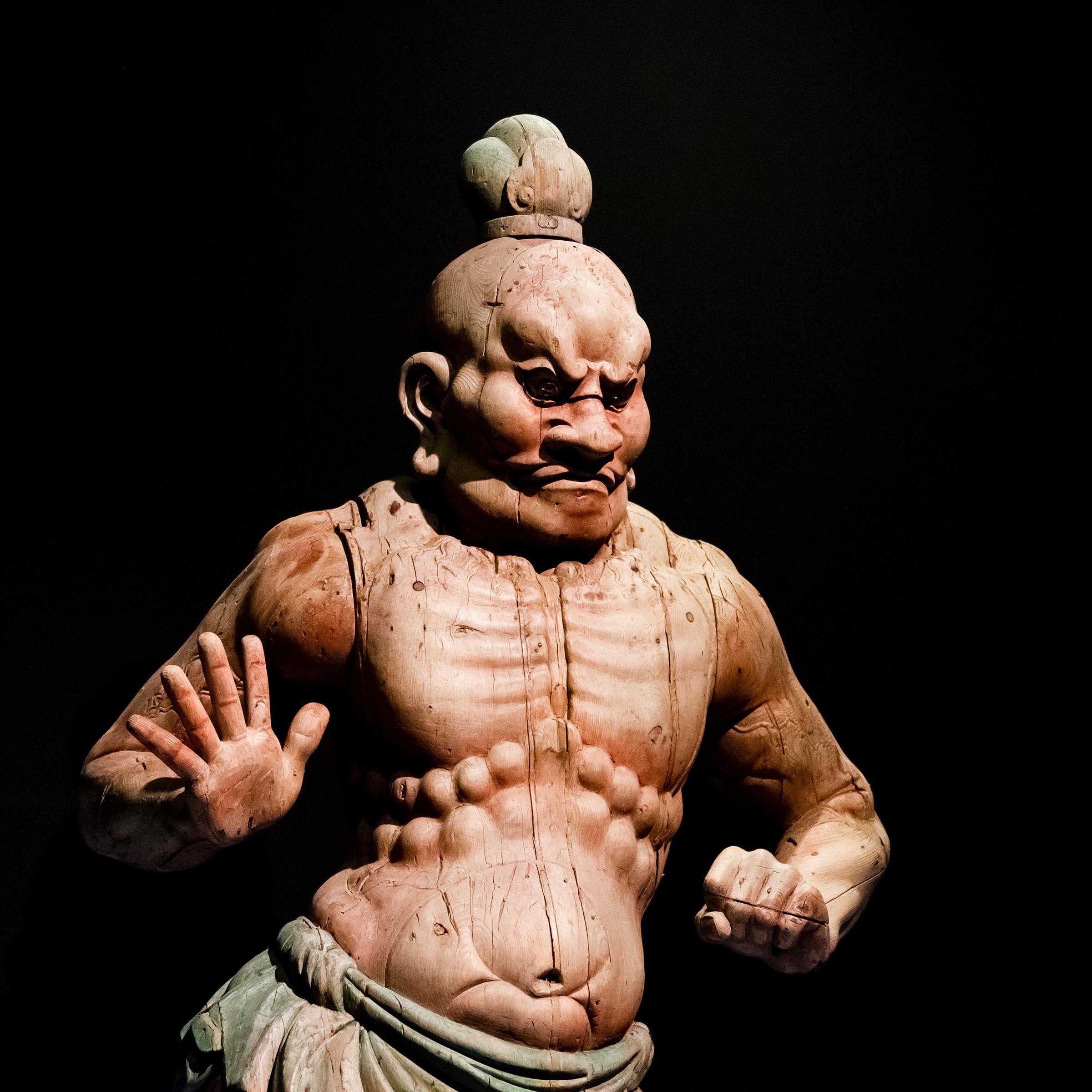 MAO Turin - Wooden statue...