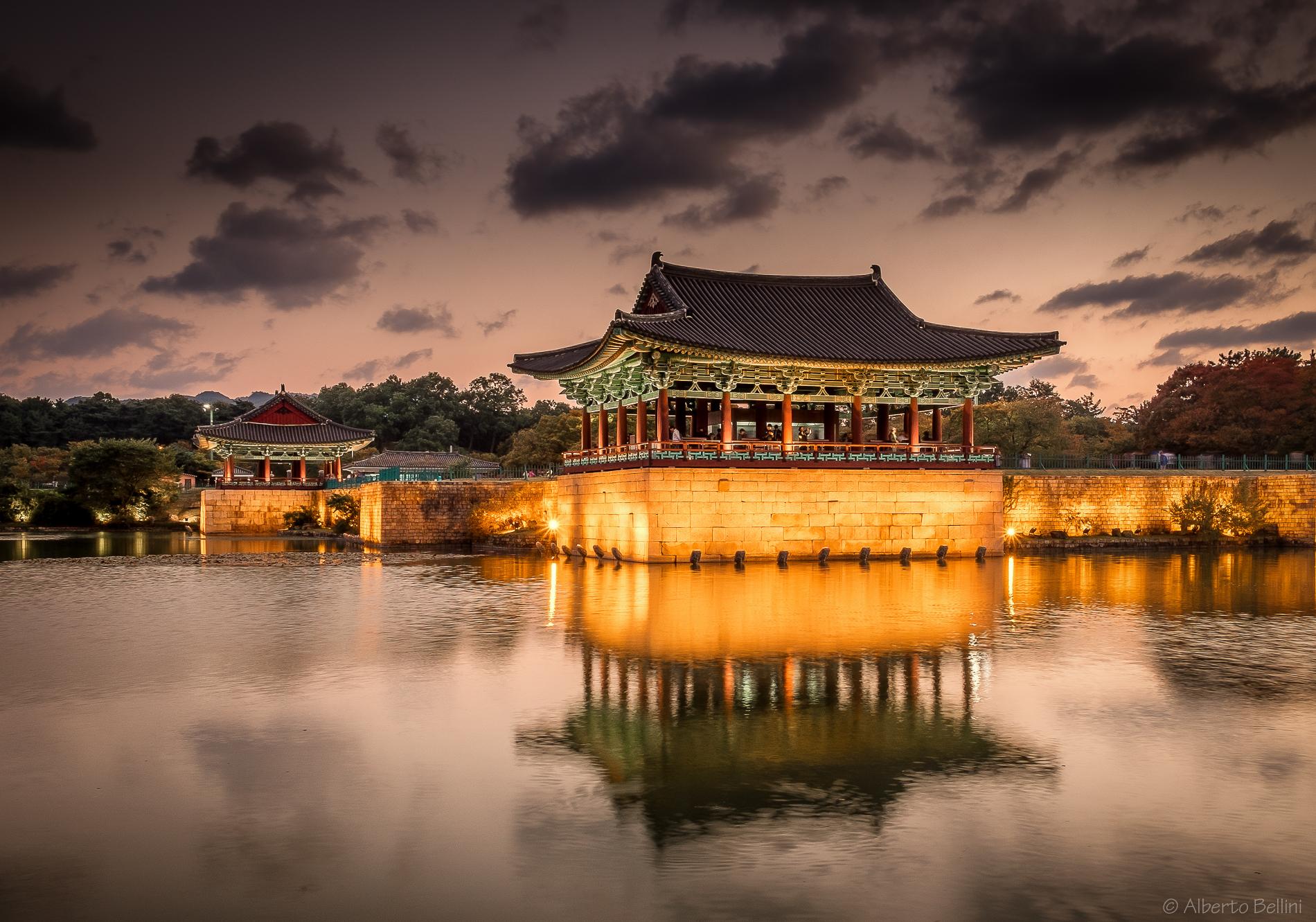 Gyeongiu Anapji Pond...