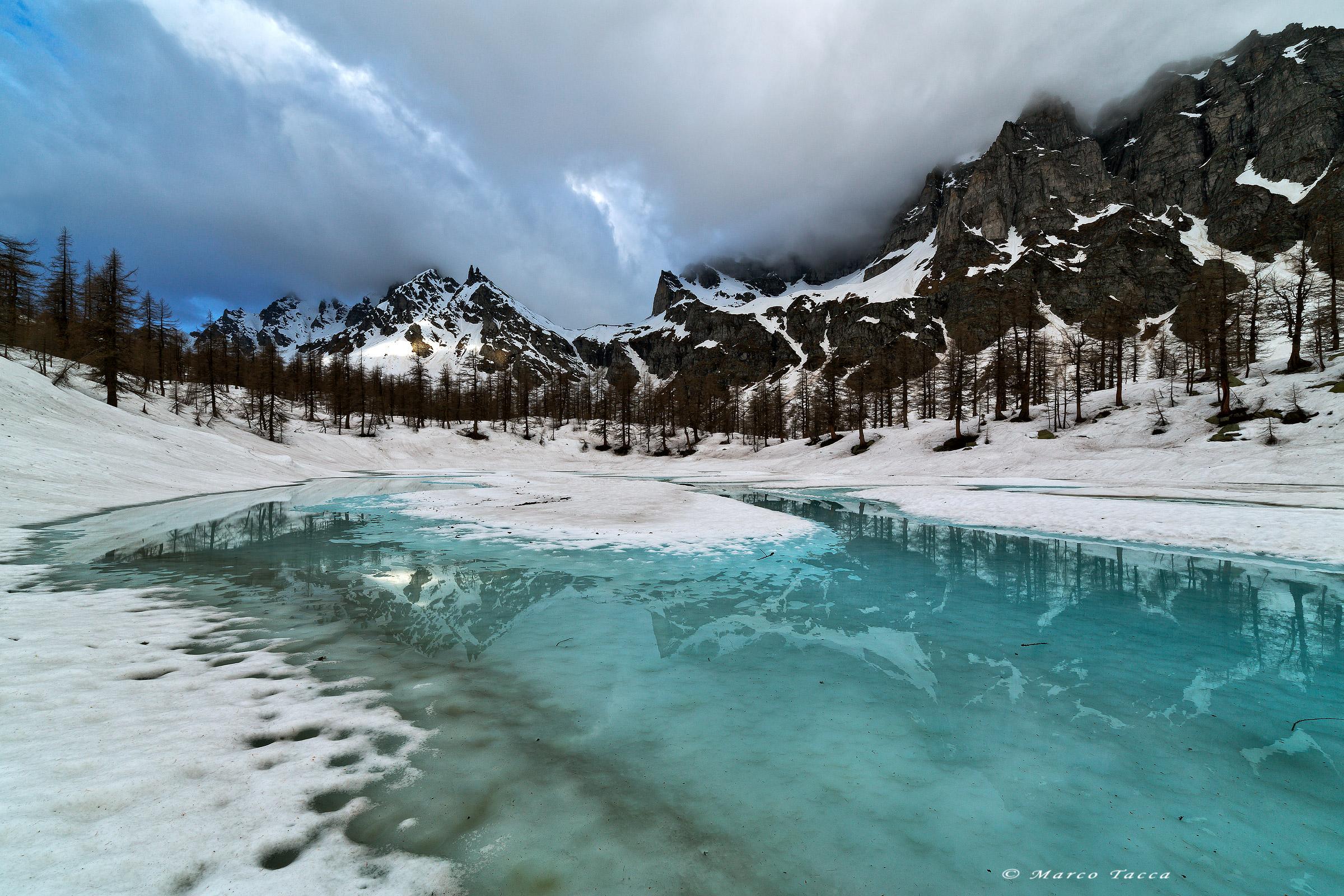Disgelo al lago Nero...