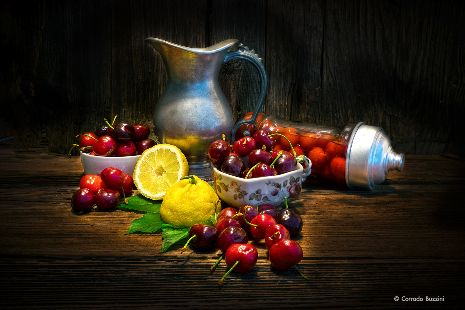 composition of cherries...