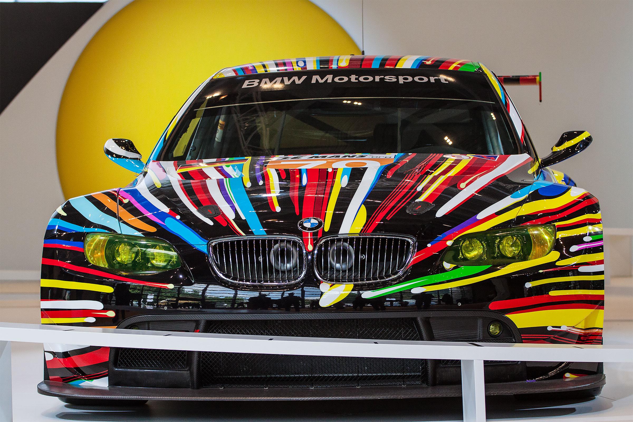BMW Art by Jeff Koons...