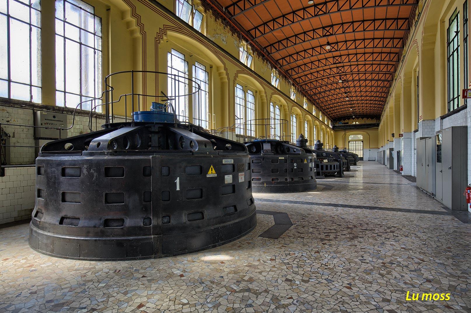 Trezzo-Hydroelectric Taccani- room Alternators...
