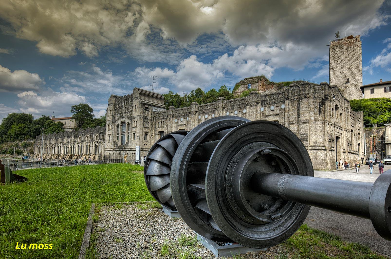 Trezzo-enteral Taccani hydro-turbine...