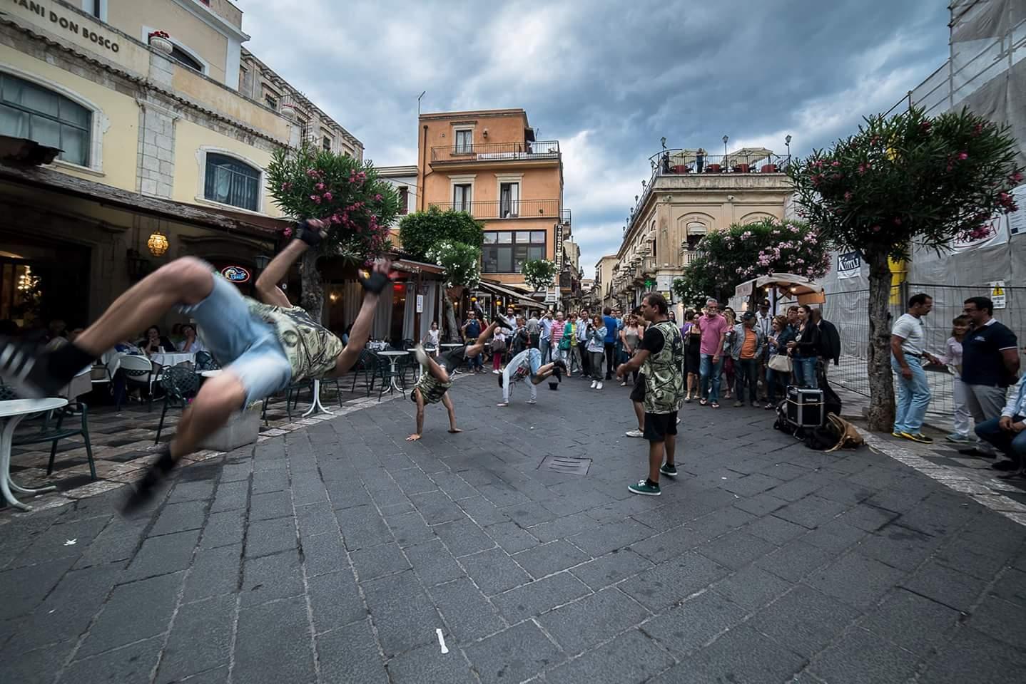 Taormina, Tifosi del Barca....