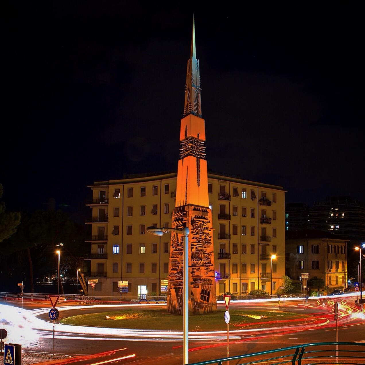 The obelisk...