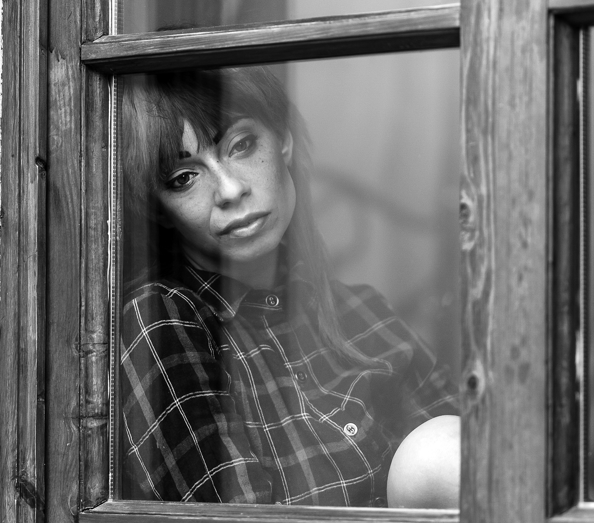 Woman at the Window...