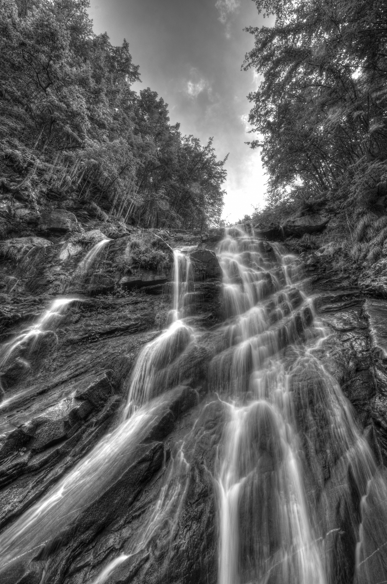 Waterfalls Arroscia B / W...
