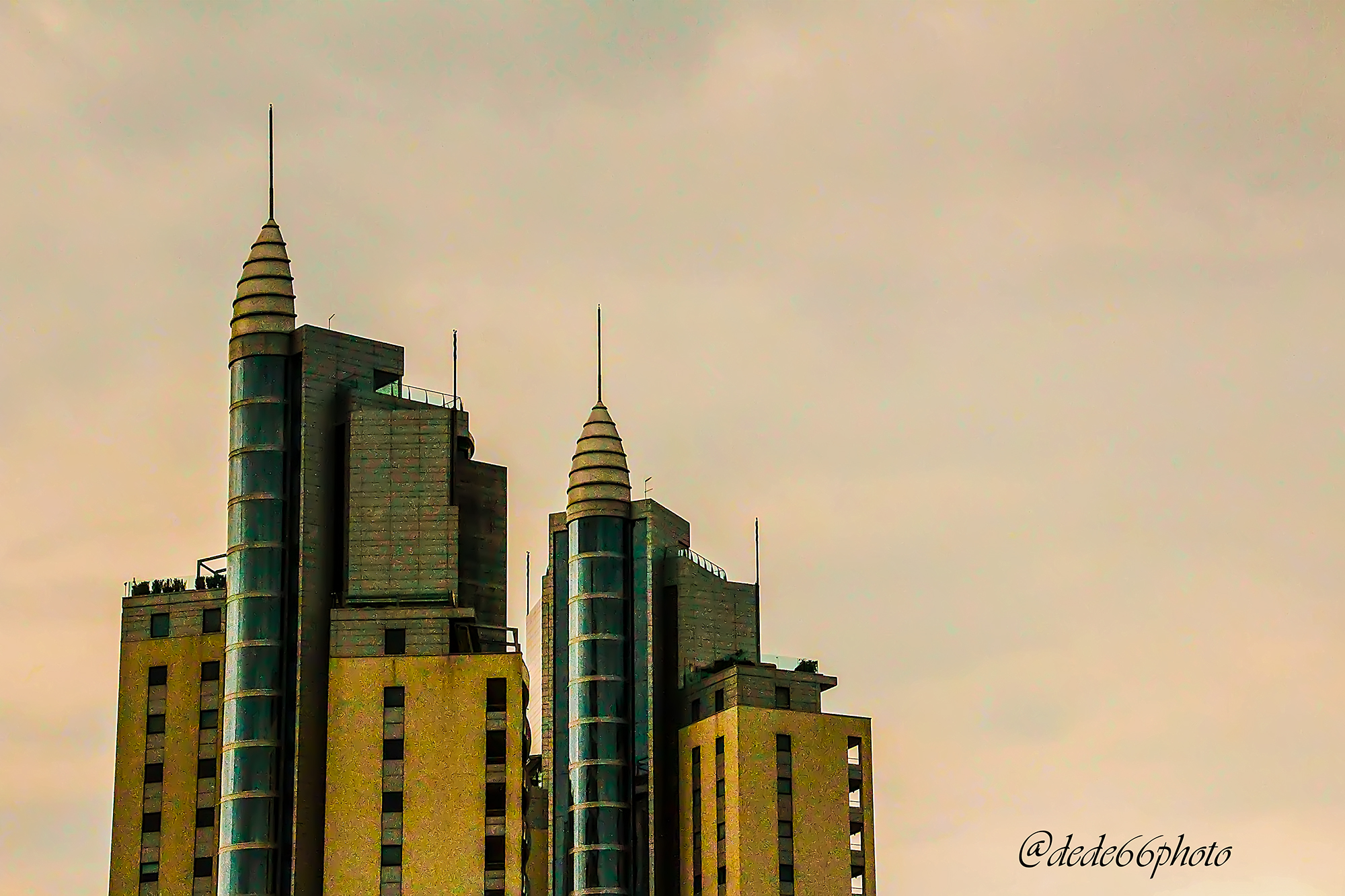 Towers...