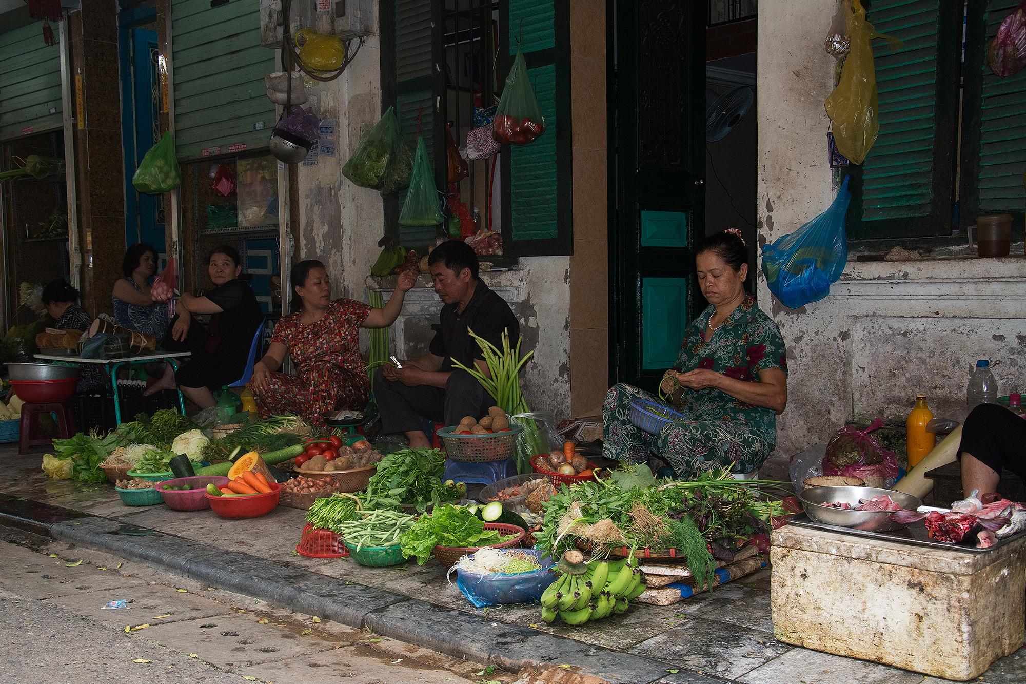 Centro storico Hanoi...