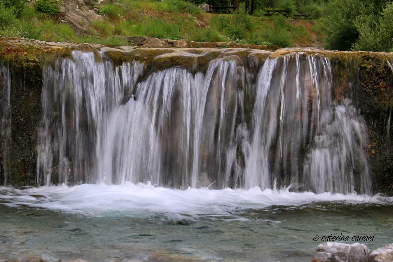 Waterfall in Val Brembana...